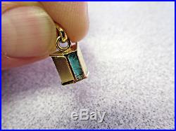 2.68 Carat Colombian Emerald Cut Emerald Pendant in 18k Gold Make Offer