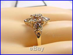 BEAUTIFUL COLORS NATURAL ANDALUSITE 1.75 TCW PEAR SHAPE with DIAMONDS 14K GOLD