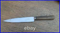 FINE Antique Russell Green River Works Chef's Paring Knife withOx Horn, RAZOR KEEN
