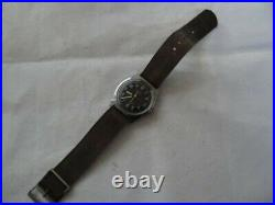 Fine Vintage Timex Crosshair Military Automatic Watch c. 1970's