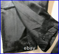 Traditional Deluxe Quality Silk Male Hanbok Dark Green Size 105 Finely Made